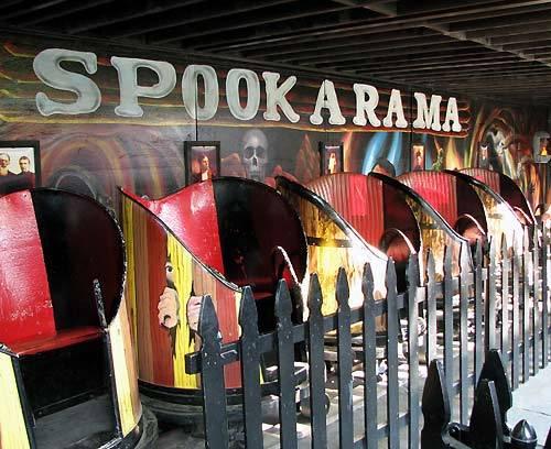 Spook-A-Rama at Deno's Wonder Wheel Amusement Park, Coney Island, New York