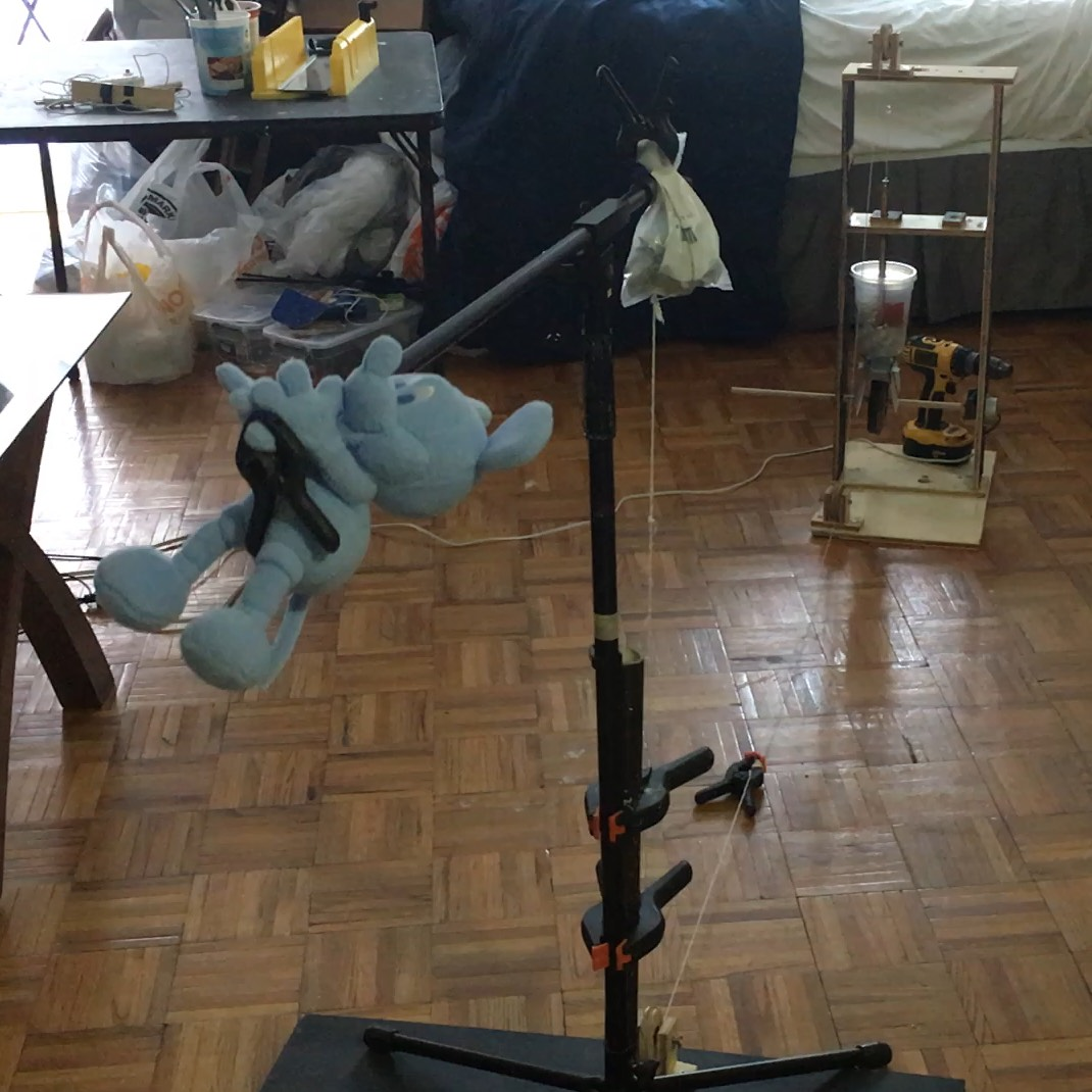 A working prototype of the animation rig